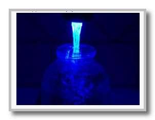 Вода с подсветкой