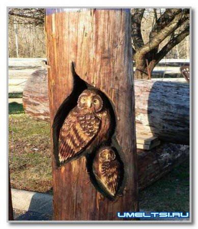 Резьба по дереву фото