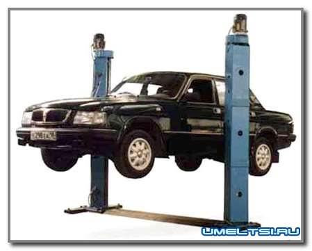 Делаем гаражный подъемник
