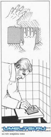 Укладка кафеля