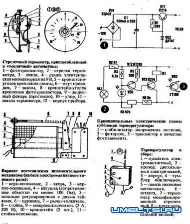 Терморегуляторы отопления для теплиц
