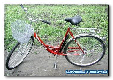 Боковой прицеп к велосипеду