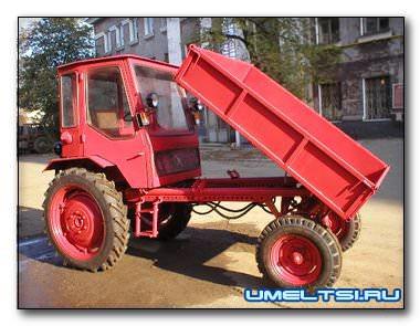 Самодельный трактор фермера