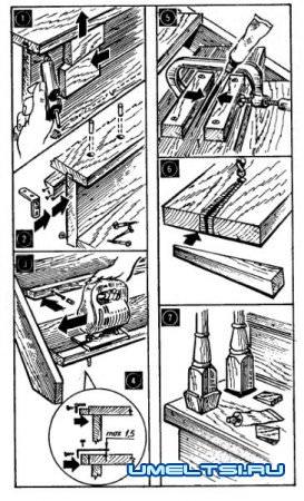 Уход за деревянными лестницами