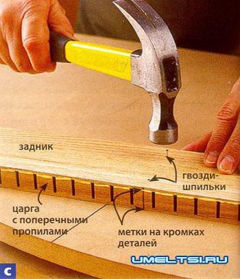 Технология обработки древесины - гнутья древесины