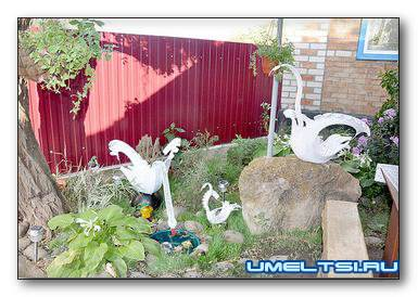 Поделки из шин своими руками для сада. Подборка фото, чертежей, видео