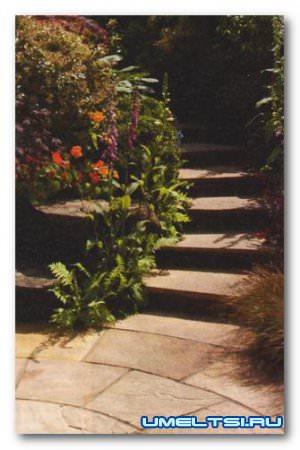 Дорожки в саду под разные стили