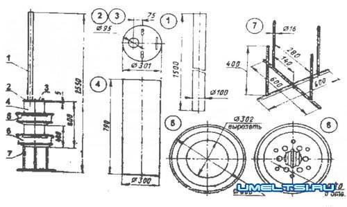 Теплообменник самовар чертеж как поменять вторичный теплообменник на воду котла бакси 3 эконом