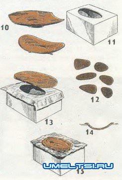 Поделки с глины