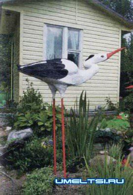 Декоративные птицы и звери для дачи