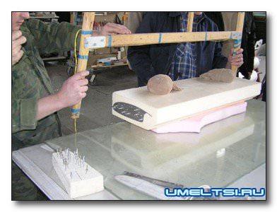 Пенопласт резка фигурная своими руками