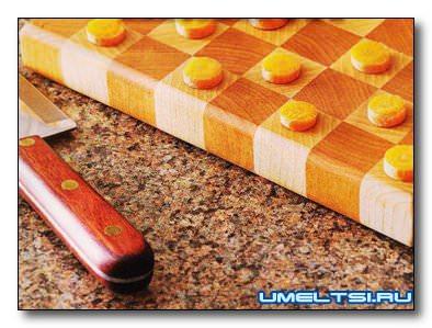 Наборная шахматная доска своими руками