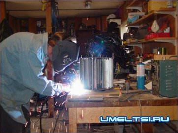 зачищеную от цинка сталь варят