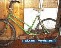 Устройство рычажного велосипеда