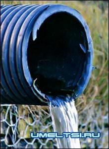 Осушение участка с помощью дренажных систем