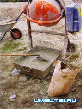 Ингредиенты для зимней стройки