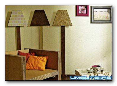 Декоративные светильники в комнату