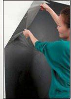 Декорирование стен с помощью трафаретов