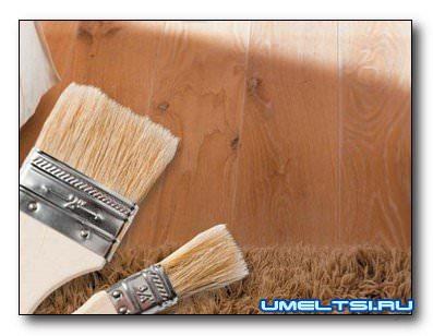 Обработка древесины натуральными составами