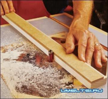 Способы работы с фрезерным столом