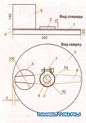 Чертежи зернодробилка 92