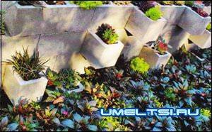 Подпорные стенки в садовом дизайне