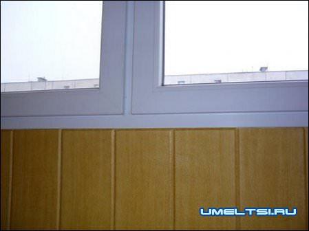 откосы на окнах при ремонте балкона