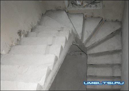 достоинства бетонных лестниц