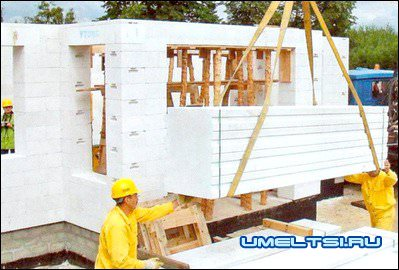 пенобетон строительство
