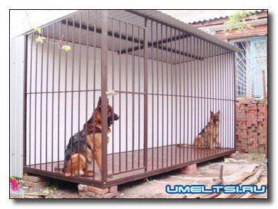 вольер для собаки