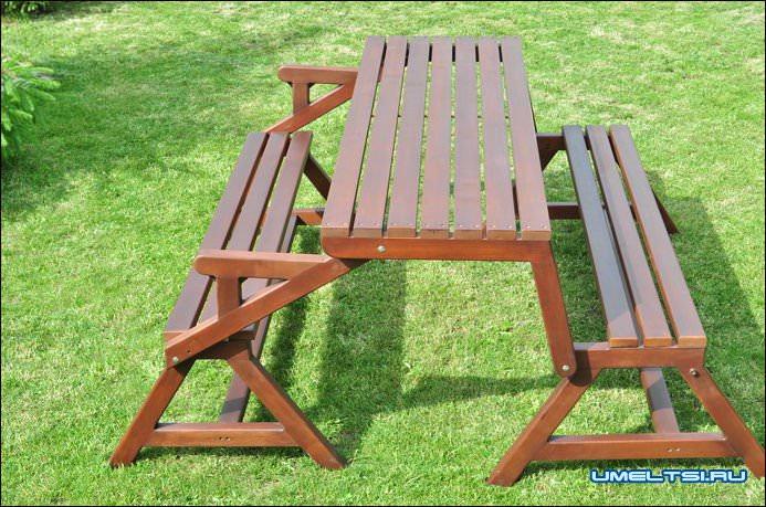 Столик и скамейка для кладбища своими руками размеры