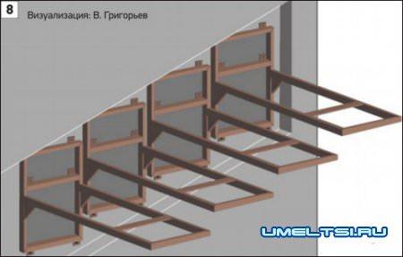 Лестницы консольные особенности конструкций