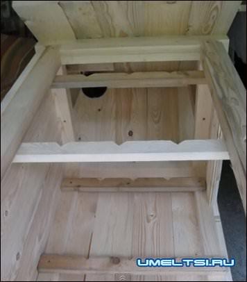 Коптильный шкаф из дерева своими руками