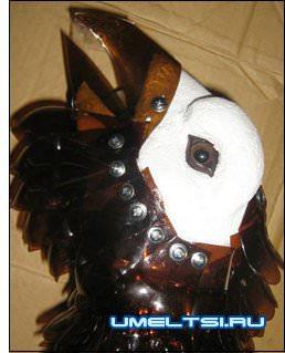 наложения перьев еа голову