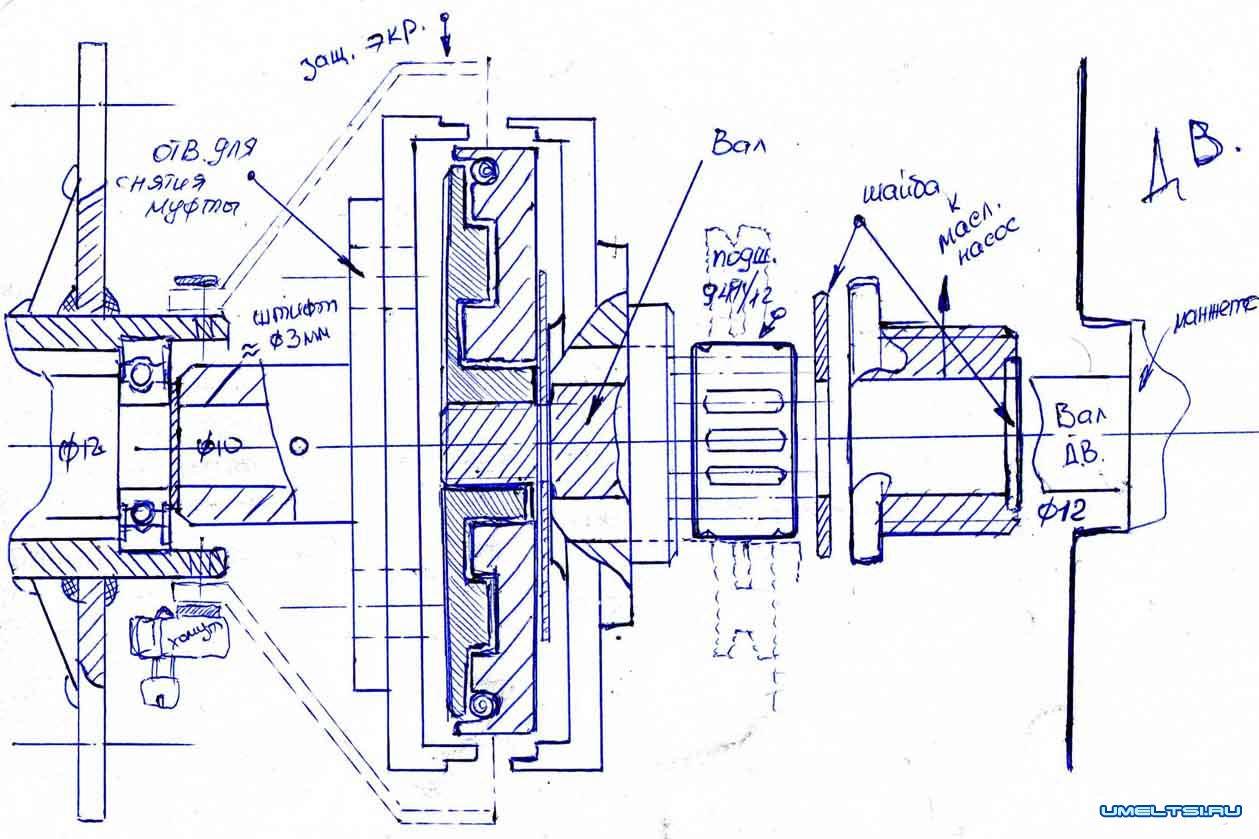 Как сделать лодочному мотор из бензопилы 617