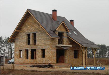 Дом из ракушечника
