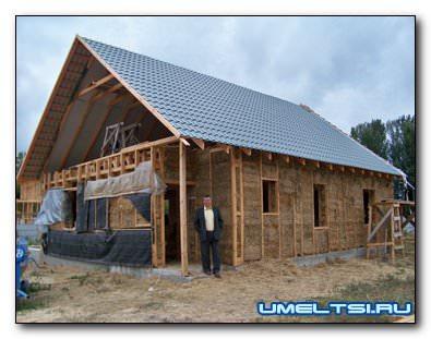 строительство соломенных домов