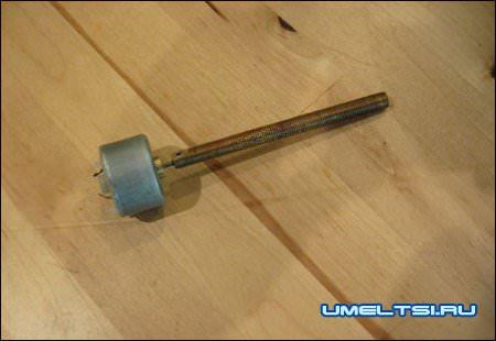 Аппарат для сладкой ваты-монтаж двигателя