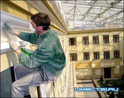 Капитальный ремонт фасада дачи