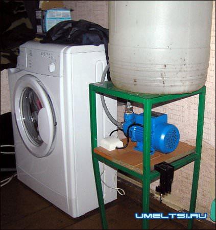 водоснабжение для стиралки