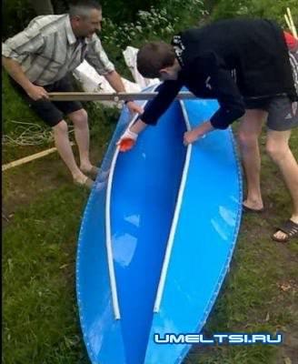 розборка лодки