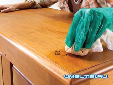 Лакировка и полировка мебели своими руками