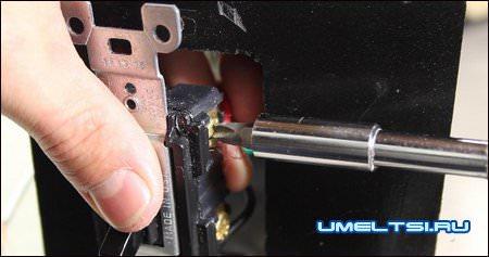 установка трансформатора сварочного аппарата