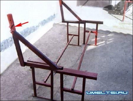 скамейка-трансформер