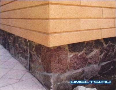 Плиты из искусственного фасадного камня
