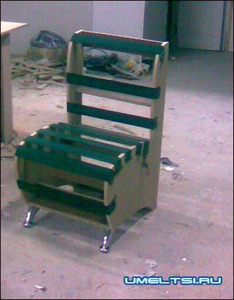 кресло обивка тясмой