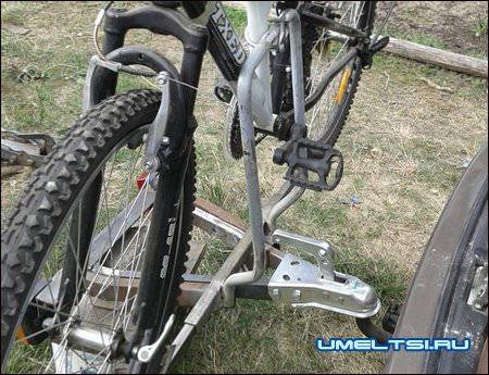 Велобагажник на автомобиль