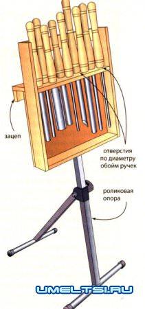 стойка для токарных резцов