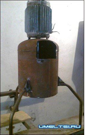 корморезка из газового баллона