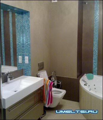 Мозаичное панно в ванную